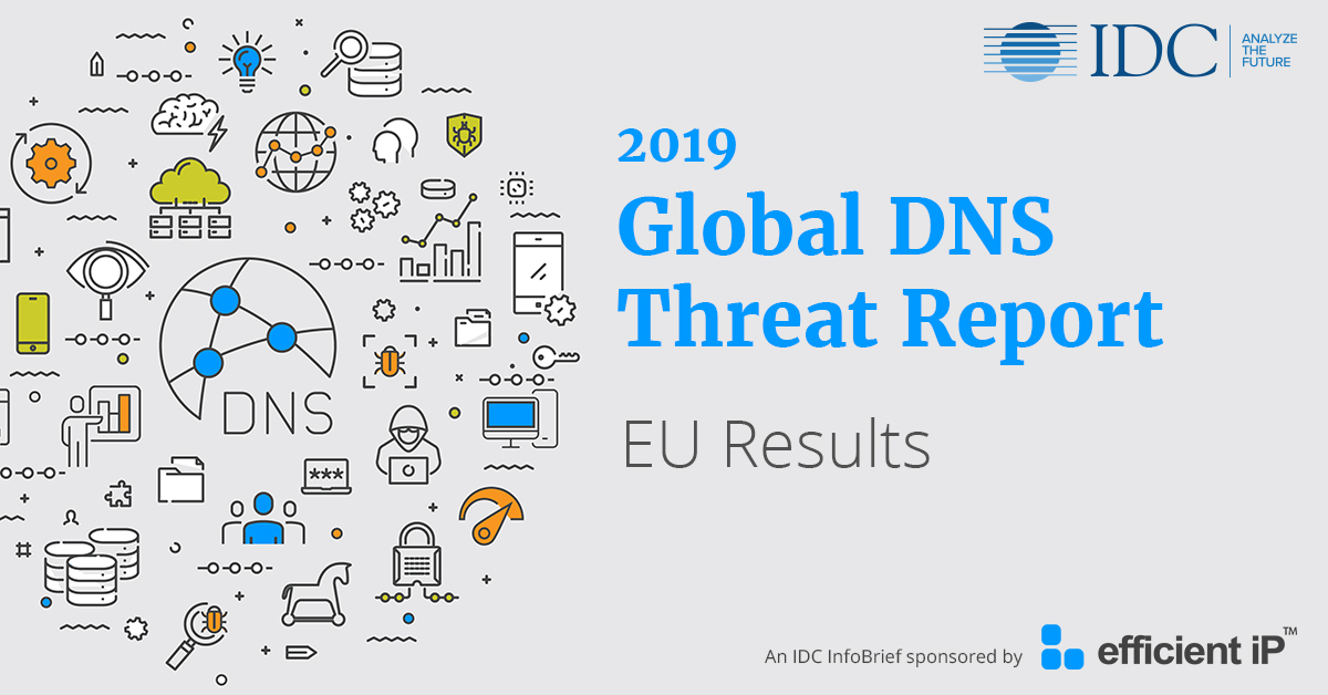 2019 Global DNS Threat Report Europe Results