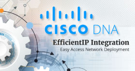 Cisco DNA and EfficientIP IPAM integration