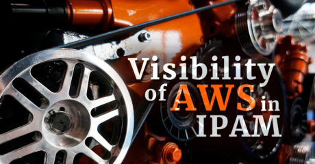 Visibility of AWS in IPAM