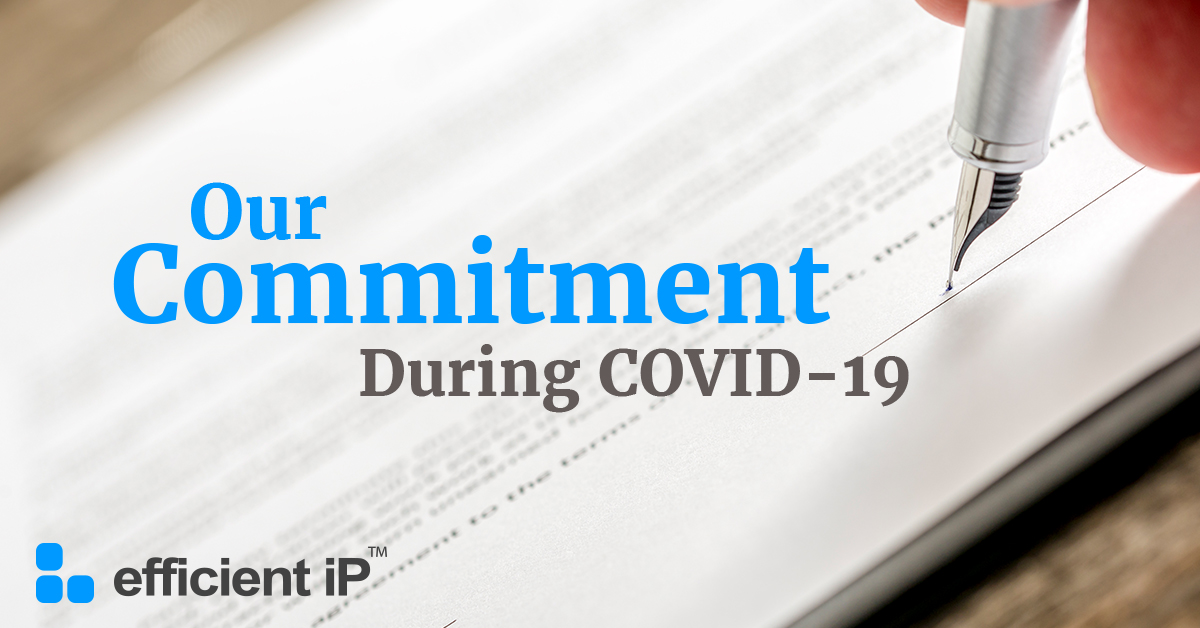 EfficientIP's commitment during the COVID-19 crisis