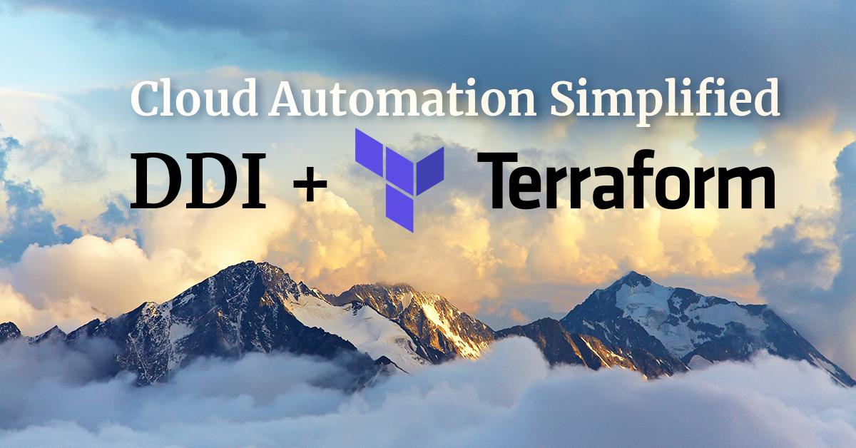 EfficientIP DDI + Terraform simplifies cloud automation