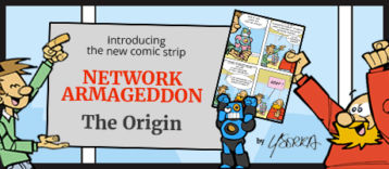 Network Armageddon comic post