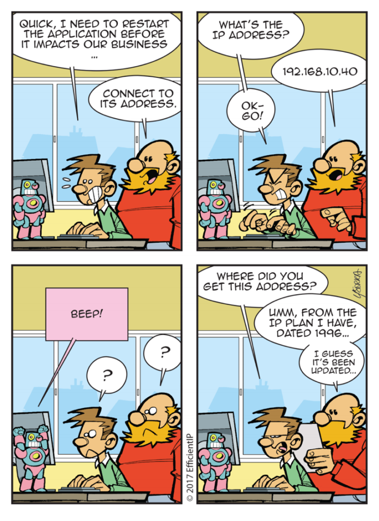 Network Armageddon comic strip Episode 3