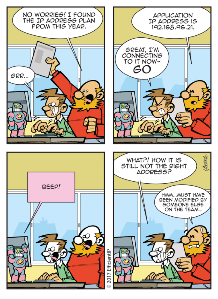 Network Armageddon comic strip Episode 4