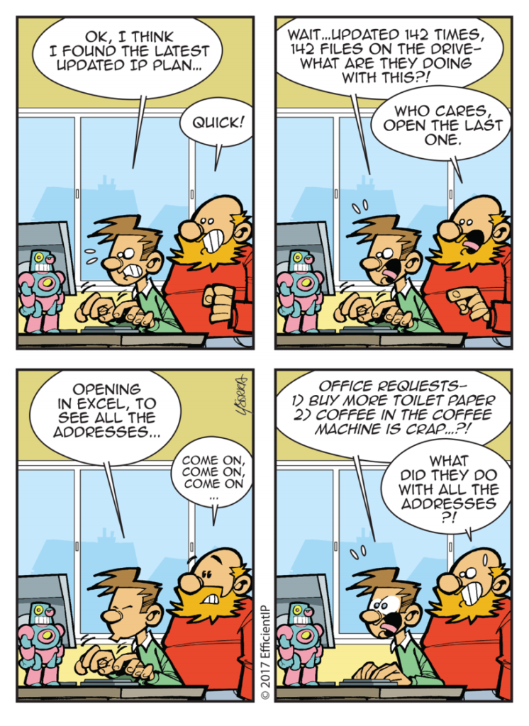 Network Armageddon comic strip episode 5