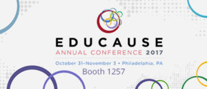 EDUCAUSE conference 2017
