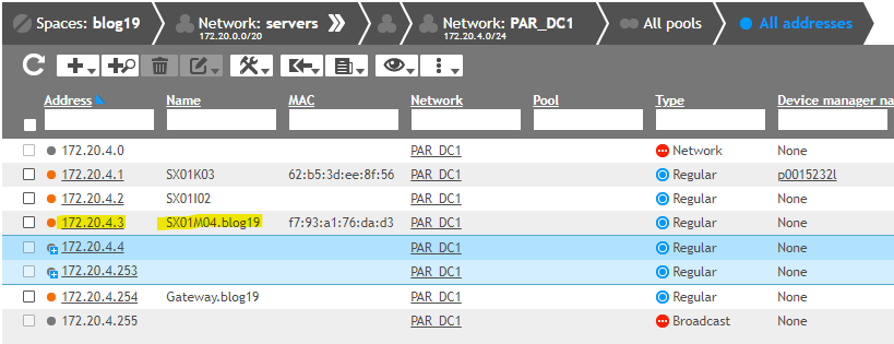 EfficientIP SOLIDserver IPAM AWS host